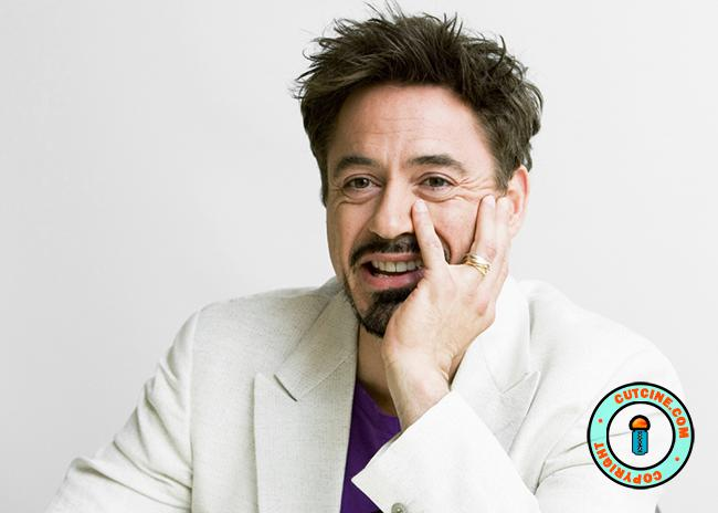 Robert Downey Jr. in White Suit