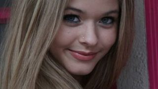 Sasha Pieterse in Maroon Frock - Photo #5