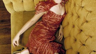 Scarlett Johansson in Couch - Photo #1