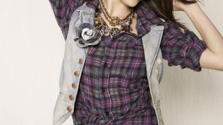 Selena Gomez in Check Shirt - Photo #10