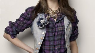 Selena Gomez in Check Shirt - Photo #2