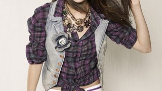 Selena Gomez in Check Shirt - Photo #9