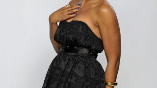 Toni Braxton in Black off shoulder - Photo #1