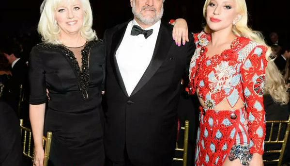 Lady Gaga with Her Parents at National Arts Awards