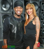 Ne-Yo with wife Crystal Renay Williams