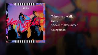 When You Walk Away – Youngblood (2018) | 5 Seconds of Summer