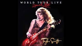 Back to December / Apologize / You're Not Sorry – Speak Now: World Tour Live (2011) | Taylor Swift