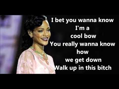 Phresh Out the Runway – Unapologetic (2012)   Rihanna