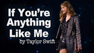 If You're Anything Like Me [Poem] – reputation (2017) | Taylor Swift