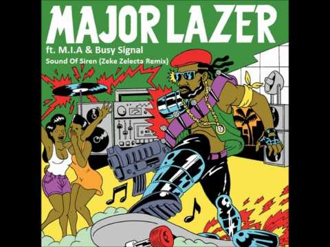 Sound Of Siren – Guns Don't Kill People… Lazers Do (2009) | Major Lazer ft. Busy Signal, M.I.A.