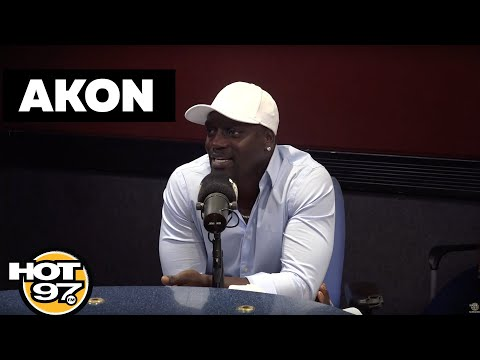 Akon's Informal Interview on collaboration with Michael Jackson, Eminem, Whitney Houston and Others